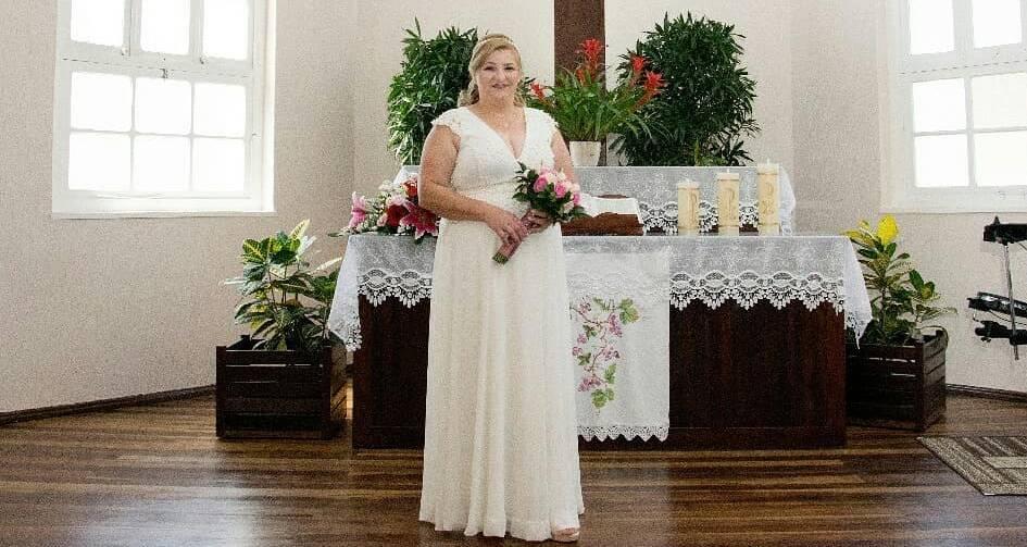 Noiva modesta