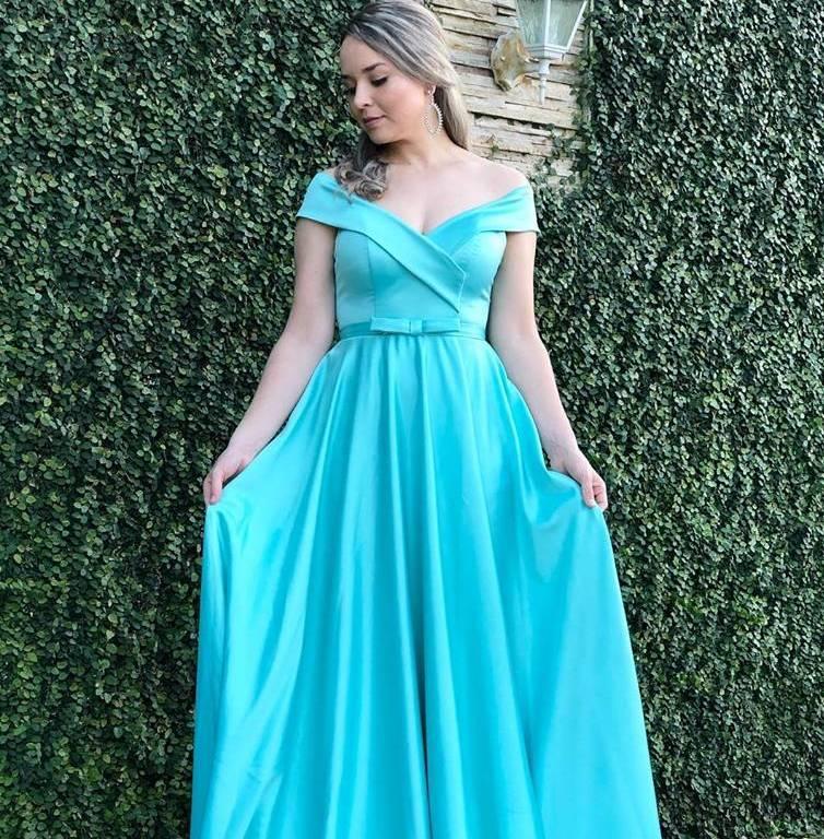 Vestido Longo Princesa