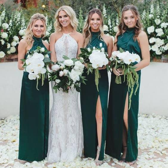 Madrinhas de Verde Esmeralda